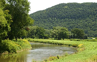 A beautiful country scene, for sure.  But is it also a viable source of water for your retreat?