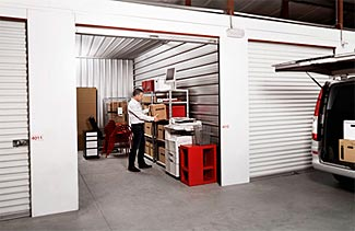 Should you use a storage locker for your supplies?  If you do, we'd recommend parking your vehicle to obscure the view into your locker when visiting.