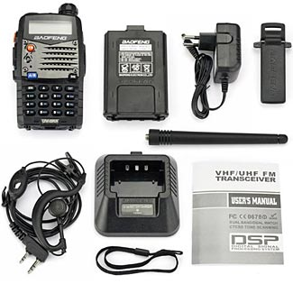 The UV-5R comes with some accessories to start with, but some additional items will make the radio much more valuable to you.