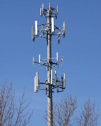 Cell phone service can be disrupted either deliberately or unexpectedly.  You can't rely on it working when you most need it.