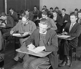 Your Ham License study and exam is not like this - it is relaxed, informal, and relatively easy.