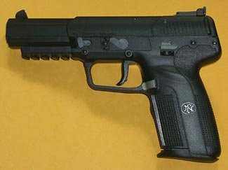 The FN5-7 is is a lovely 'super-gun' but look at all the controls on it, making it hard for normal people to become competent in its use.