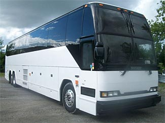 This 1999 Prevost would be a lovely bug-out vehicle, and has seats for 56 people.