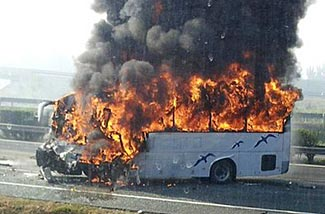 Don't this let happen to your bug-out bus.