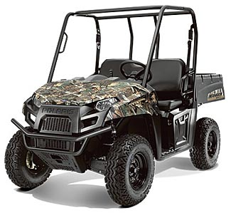 This 4WD $11,500 Polaris UTV can carry 1,000lbs and tow another 1,250lbs.