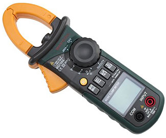 The Mastech $45 AC and DC clamp meter.